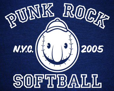 Punk Rock Softball in Central Park, New York City